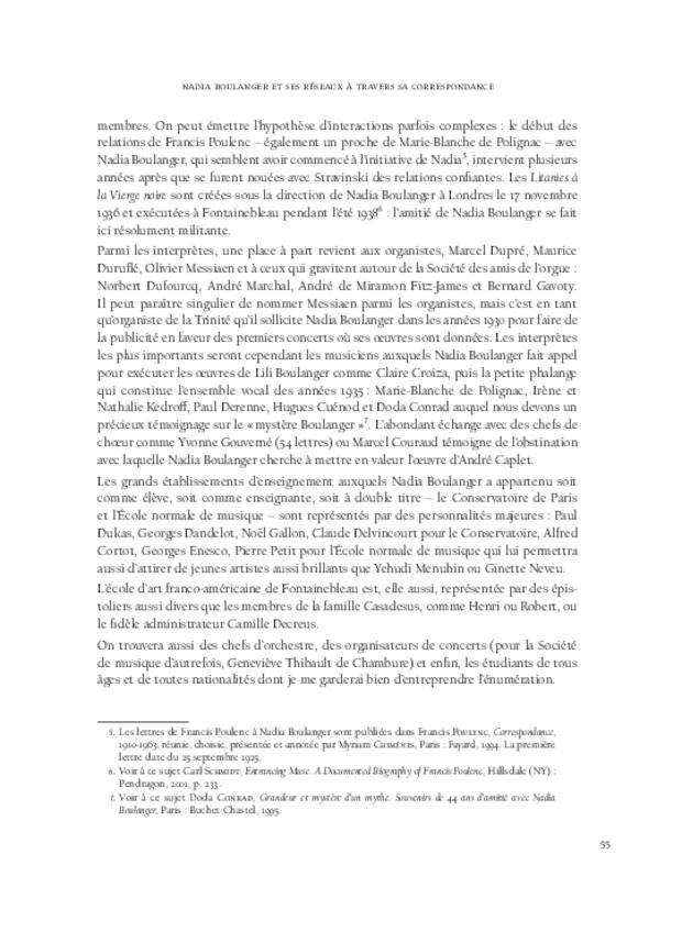Nadia Boulanger et Lili Boulanger, extrait 5