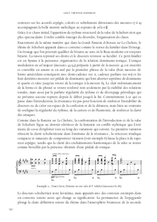 Liszt, virtuose subversif, extrait 7
