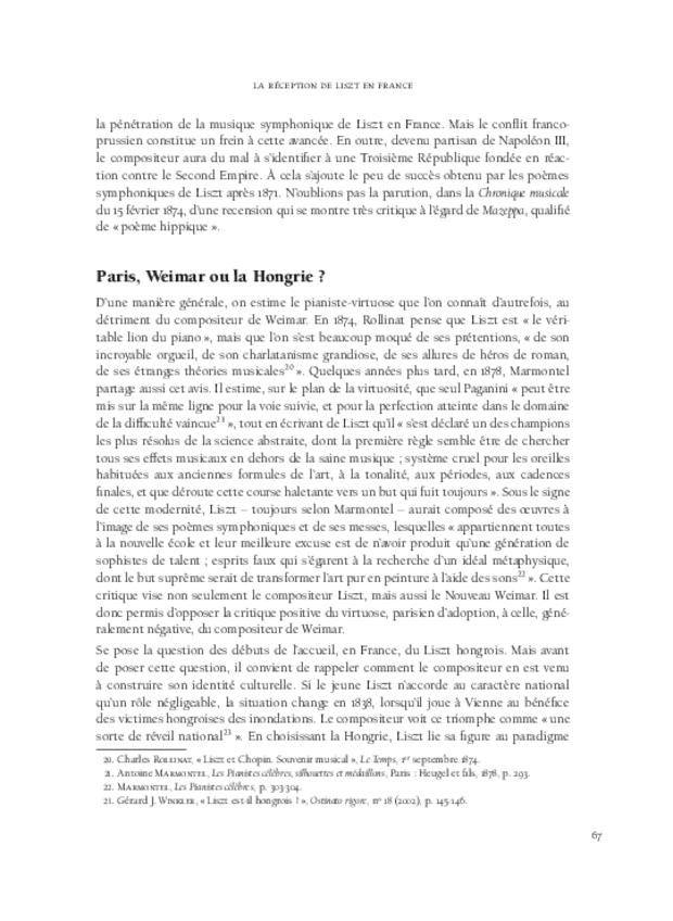 Les relations franco-allemandes et la musique à programme, extrait 4