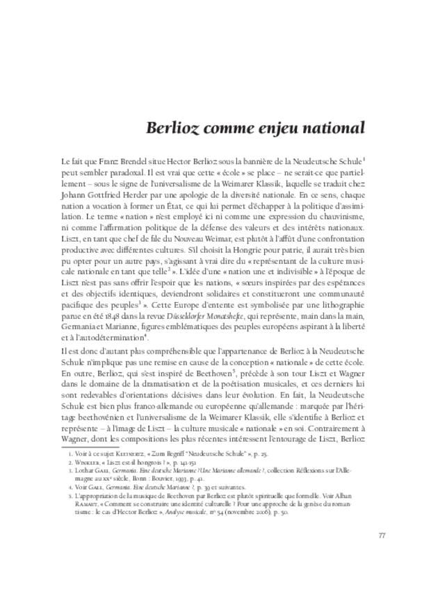 Les relations franco-allemandes et la musique à programme, extrait 5