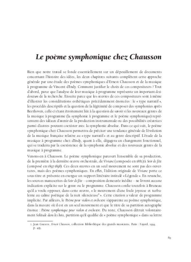Les relations franco-allemandes et la musique à programme, extrait 6