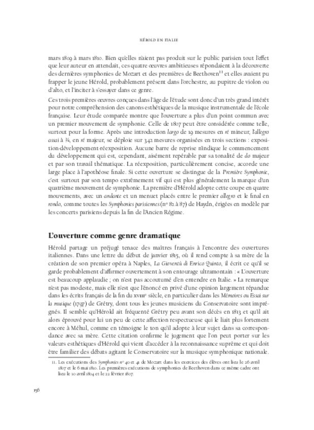 Hérold en Italie, extrait 12