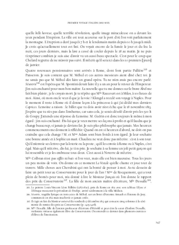 Hérold en Italie, extrait 15