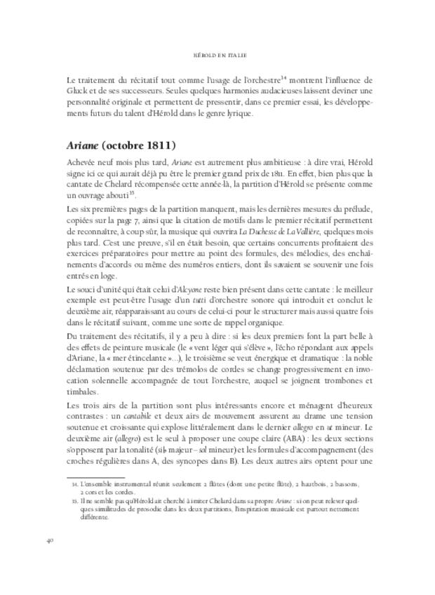 Hérold en Italie, extrait 4