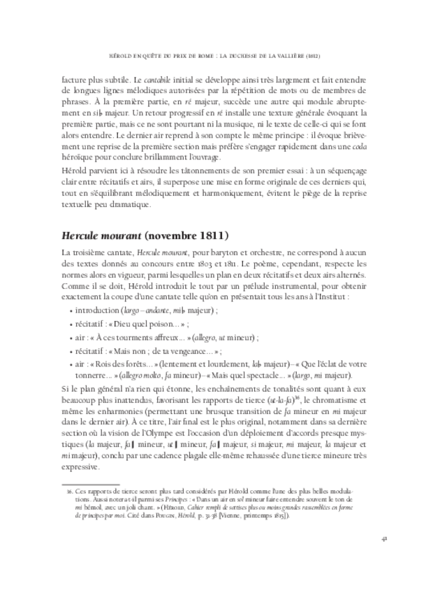 Hérold en Italie, extrait 5