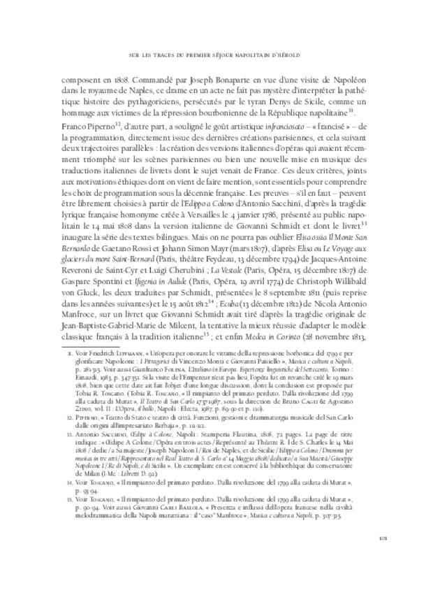 Hérold en Italie, extrait 8