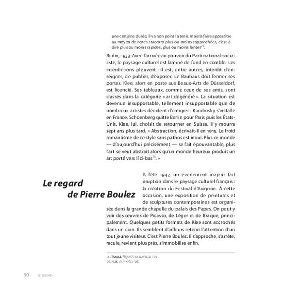 Pierre Boulez, extrait 6