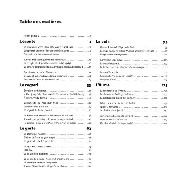 Pierre Boulez, extrait 8
