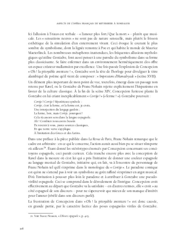 Aspects de l'opéra français de Meyerbeer à Honegger, extrait 10