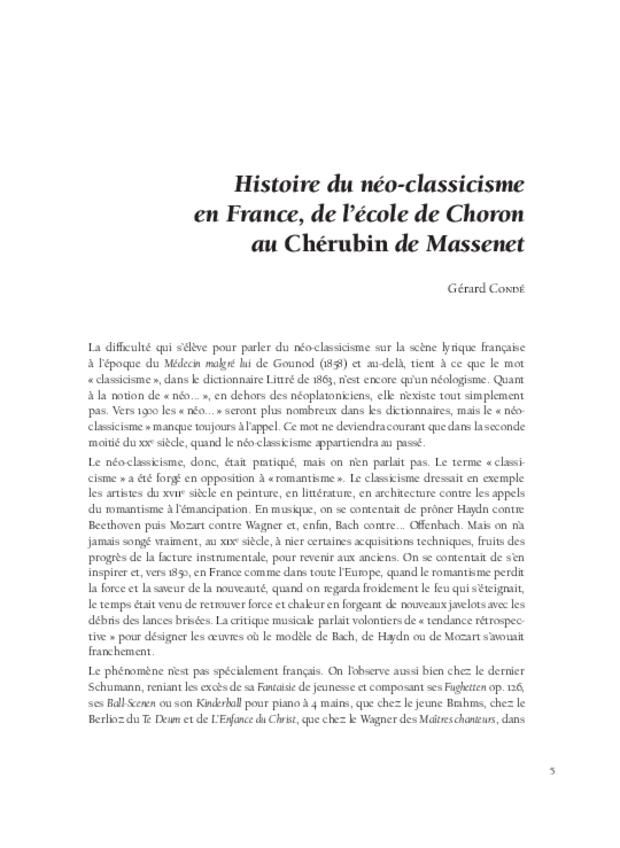 Aspects de l'opéra français de Meyerbeer à Honegger, extrait 3