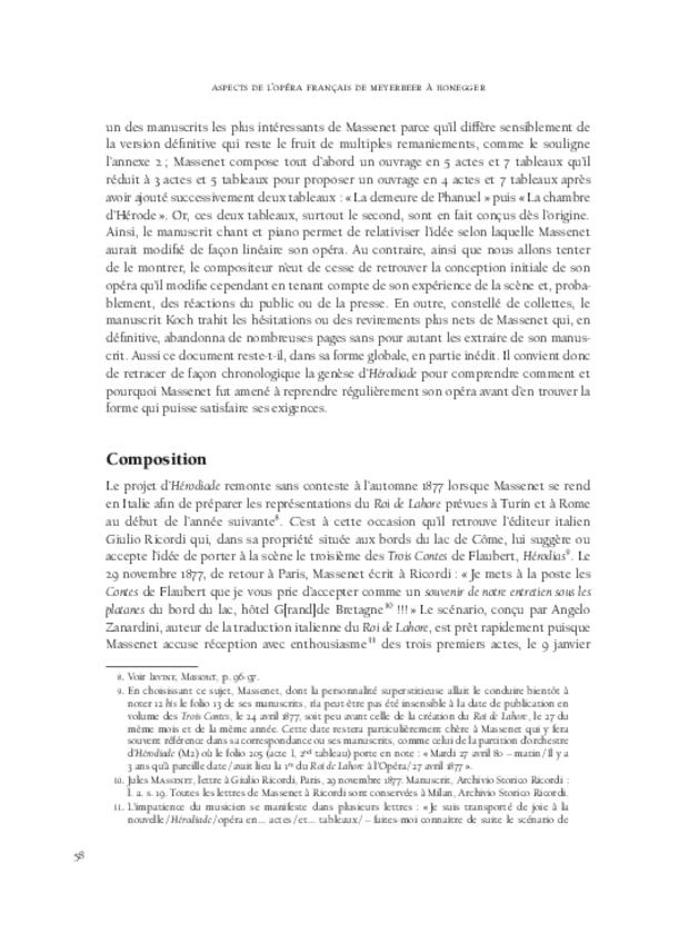 Aspects de l'opéra français de Meyerbeer à Honegger, extrait 6