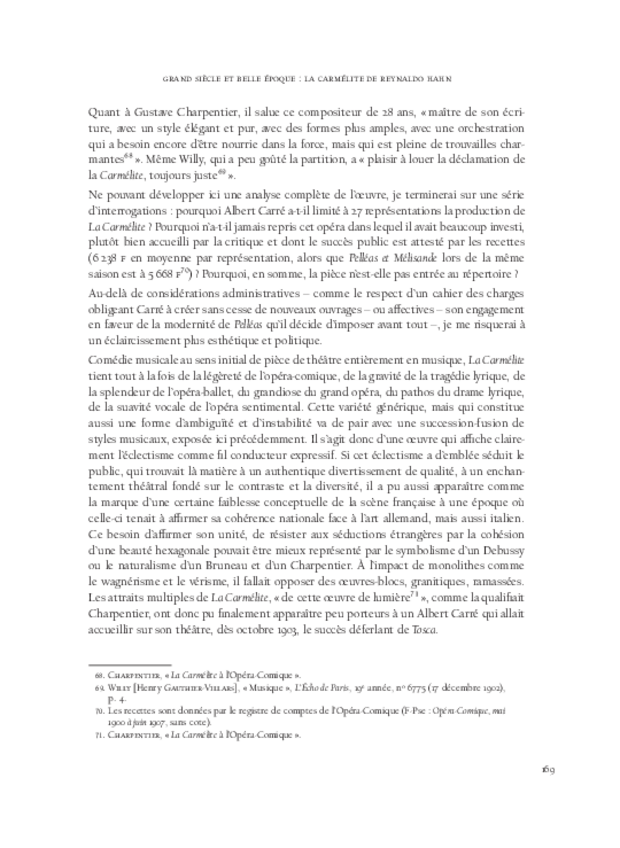 Aspects de l'opéra français de Meyerbeer à Honegger, extrait 8