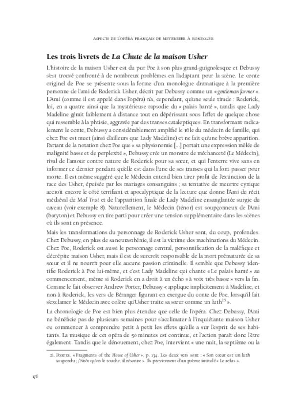 Aspects de l'opéra français de Meyerbeer à Honegger, extrait 9