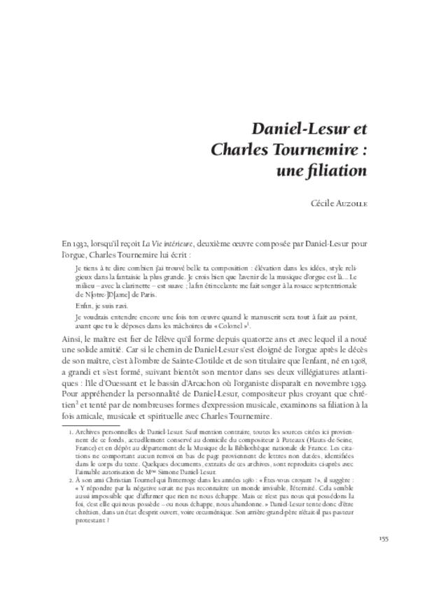 Musique, art et religion dans l'entre-deux-guerres, extrait 8