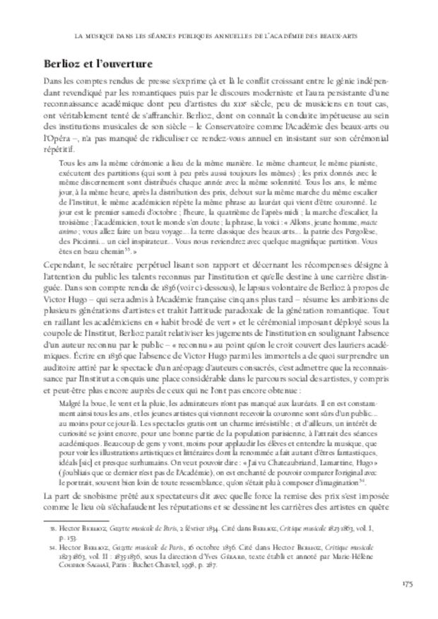 Le Concours du prix de Rome de musique (1803-1968), extrait 6