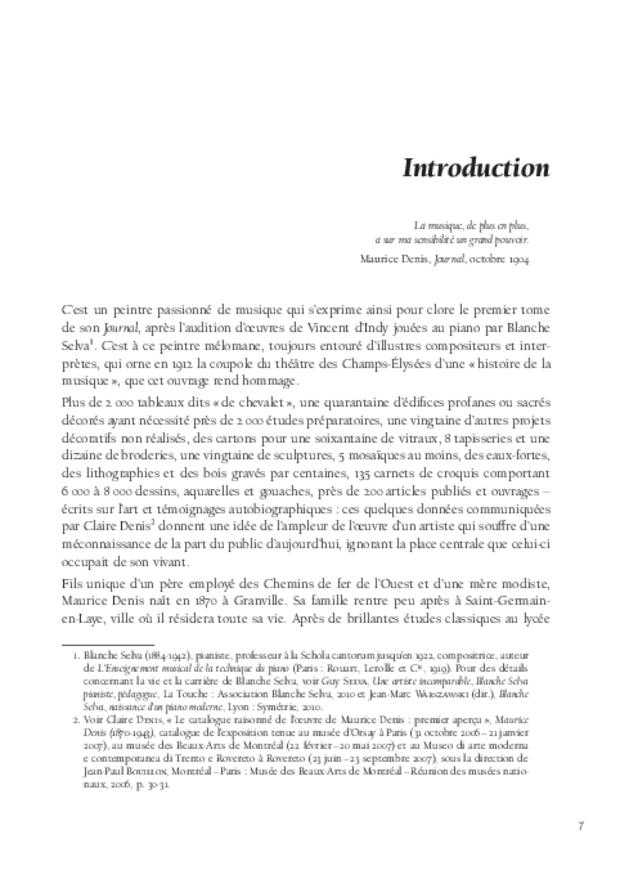 Maurice Denis et la musique, extrait 3