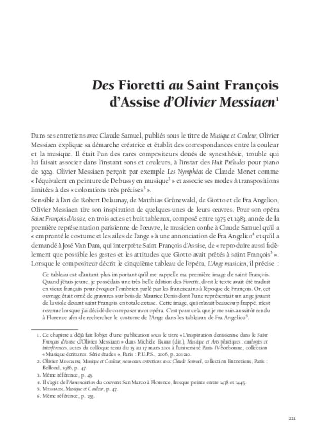 Maurice Denis et la musique, extrait 8
