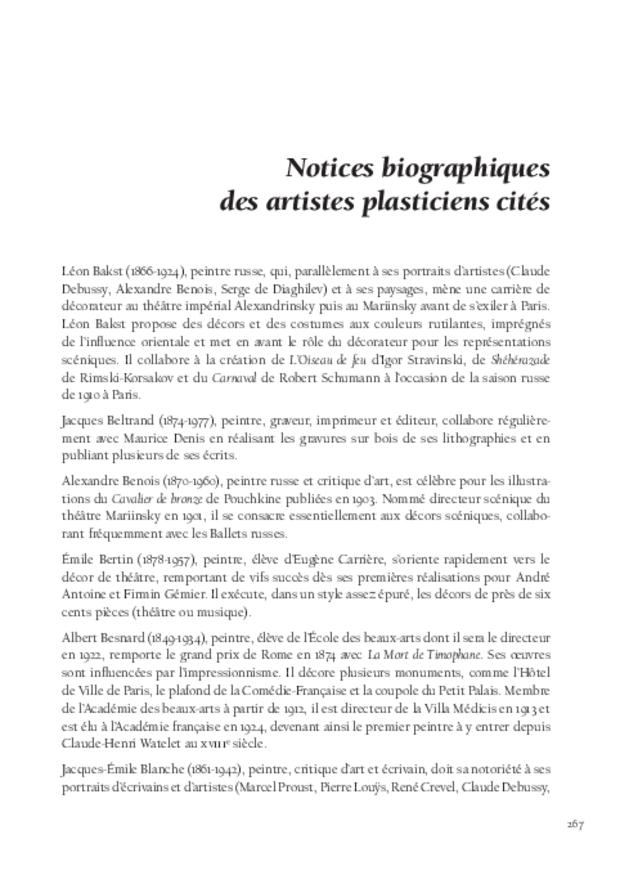 Maurice Denis et la musique, extrait 9