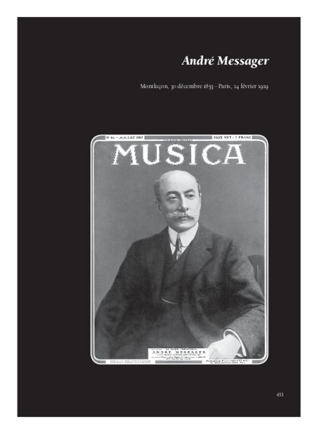 Lettres de compositeurs à Camille Saint-Saëns, extrait 10
