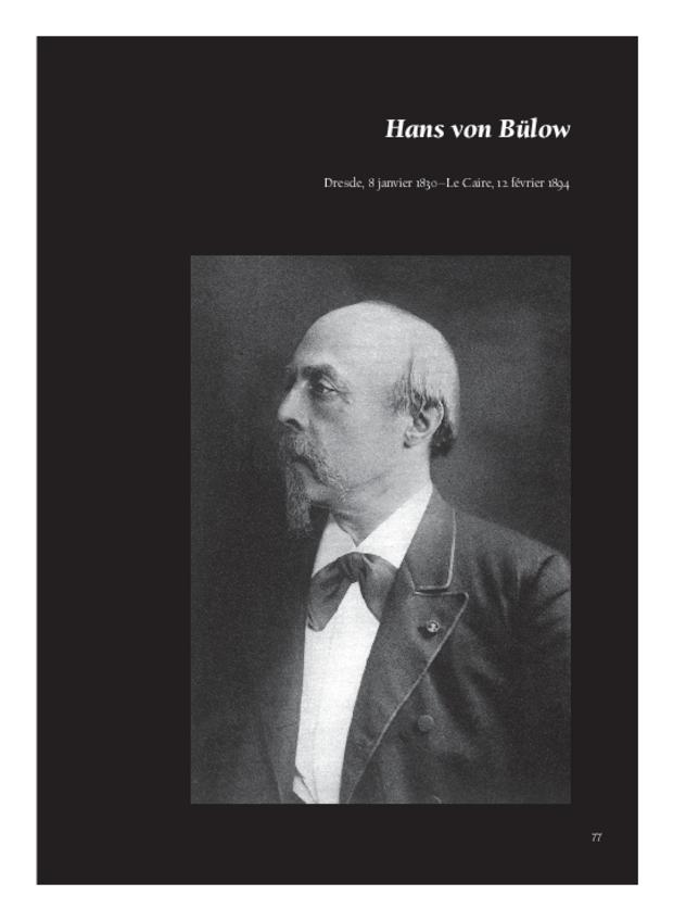 Lettres de compositeurs à Camille Saint-Saëns, extrait 3