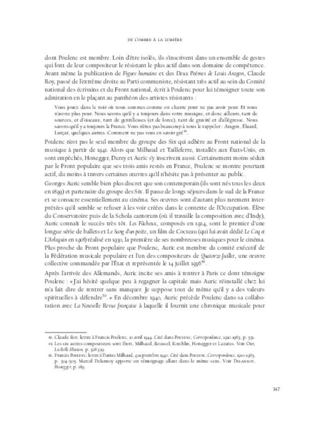 Composer sous Vichy, extrait 13