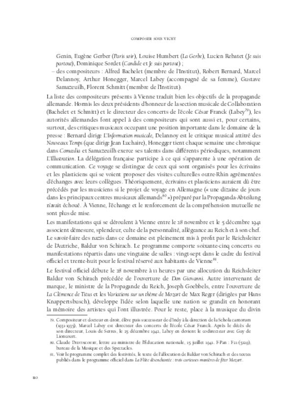 Composer sous Vichy, extrait 7