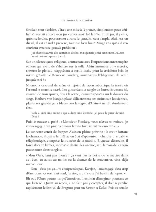 Alain Fondary, extrait 10