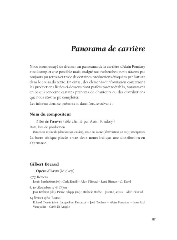 Alain Fondary, extrait 11