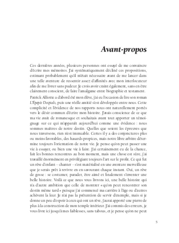 Alain Fondary, extrait 4