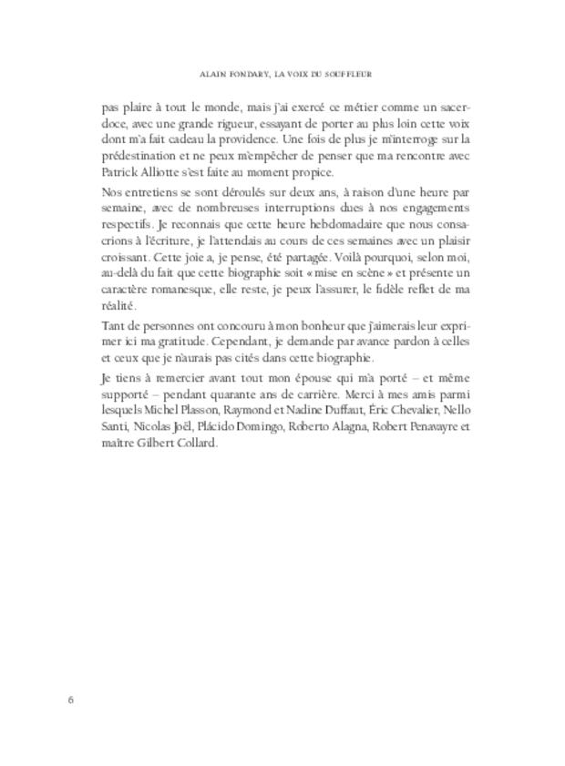 Alain Fondary, extrait 5