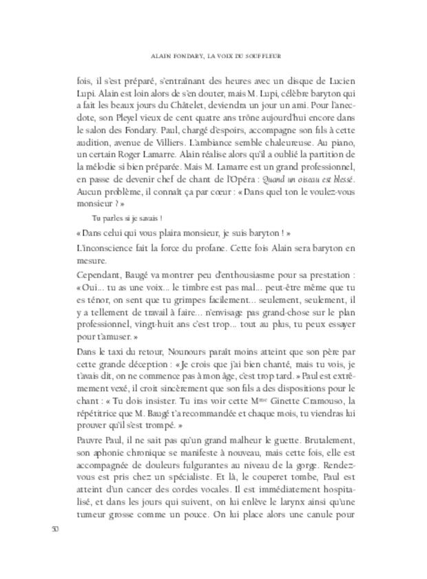 Alain Fondary, extrait 7