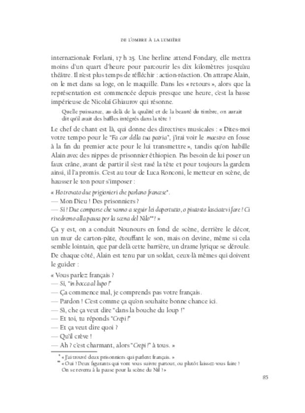 Alain Fondary, extrait 9