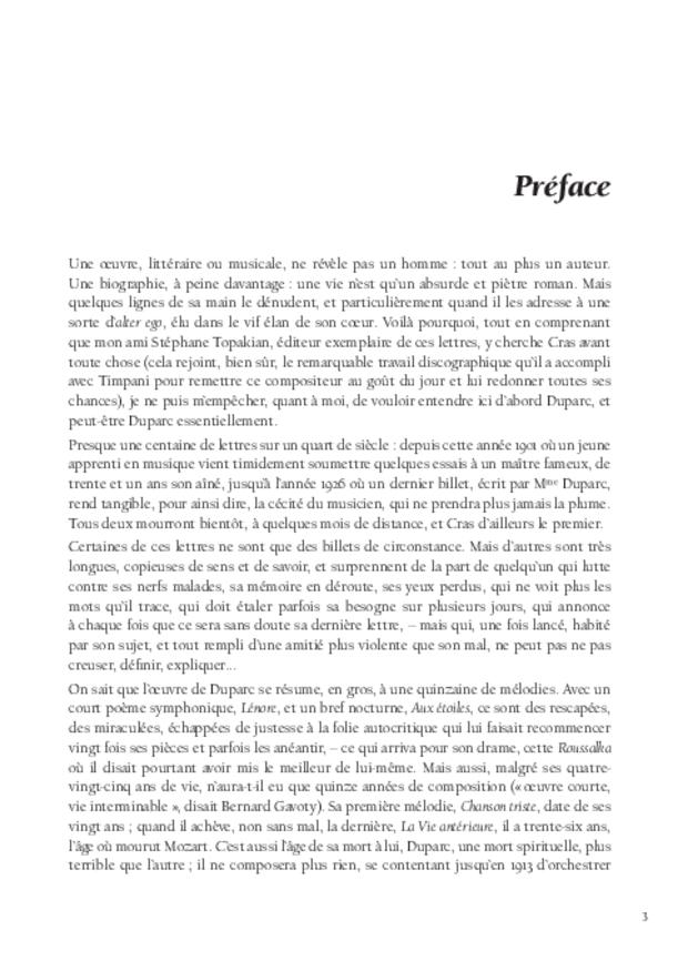 Lettres à Jean Cras, «le fils de mon âme», extrait 3