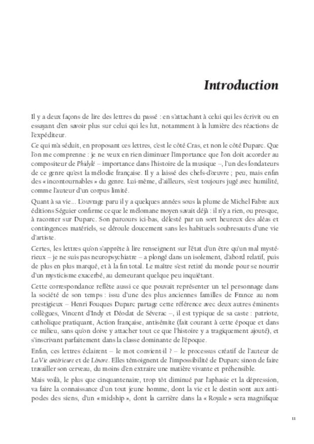 Lettres à Jean Cras, «le fils de mon âme», extrait 4