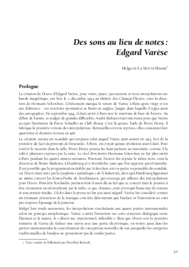Théories de la composition musicale au xxe siècle, extrait 16