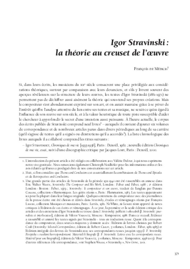 Théories de la composition musicale au xxe siècle, extrait 20