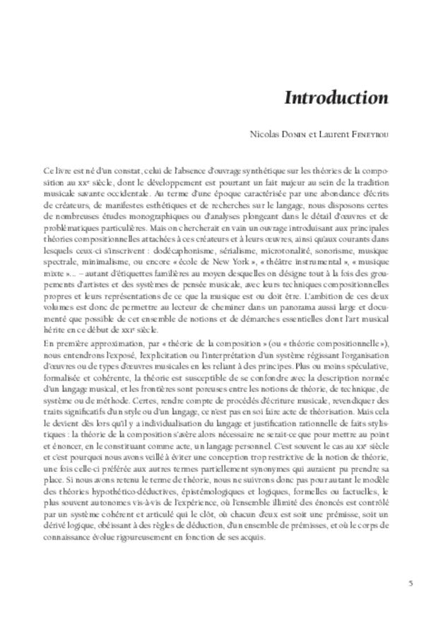 Théories de la composition musicale au xxe siècle, extrait 3