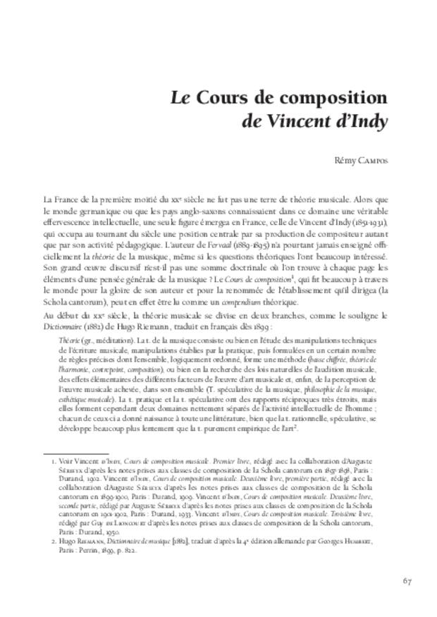 Théories de la composition musicale au xxe siècle, extrait 6