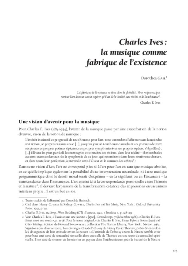 Théories de la composition musicale au xxe siècle, extrait 7
