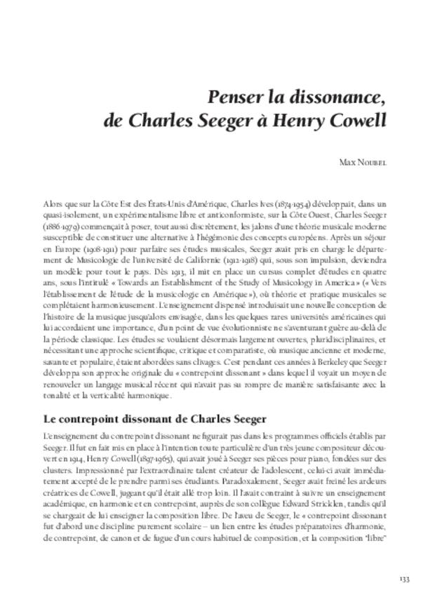 Théories de la composition musicale au xxe siècle, extrait 8