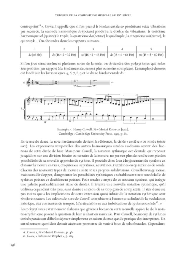 Théories de la composition musicale au xxe siècle, extrait 9