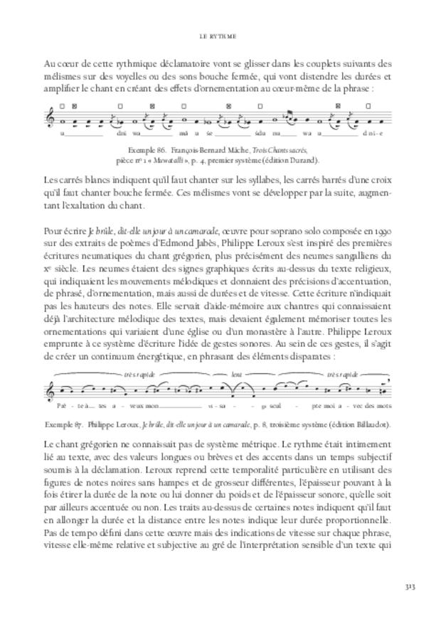 La Voix soliste contemporaine, extrait 9