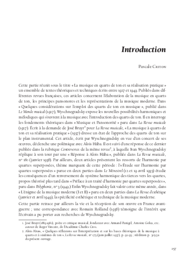 Libération du son, extrait 11