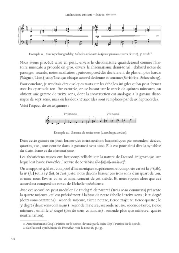 Libération du son, extrait 12