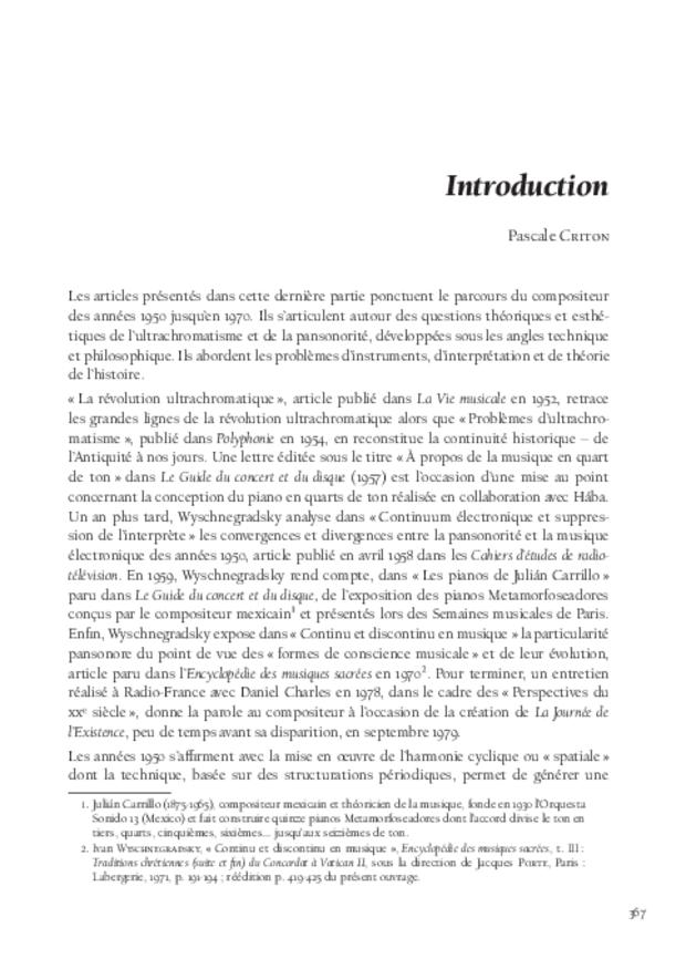 Libération du son, extrait 13