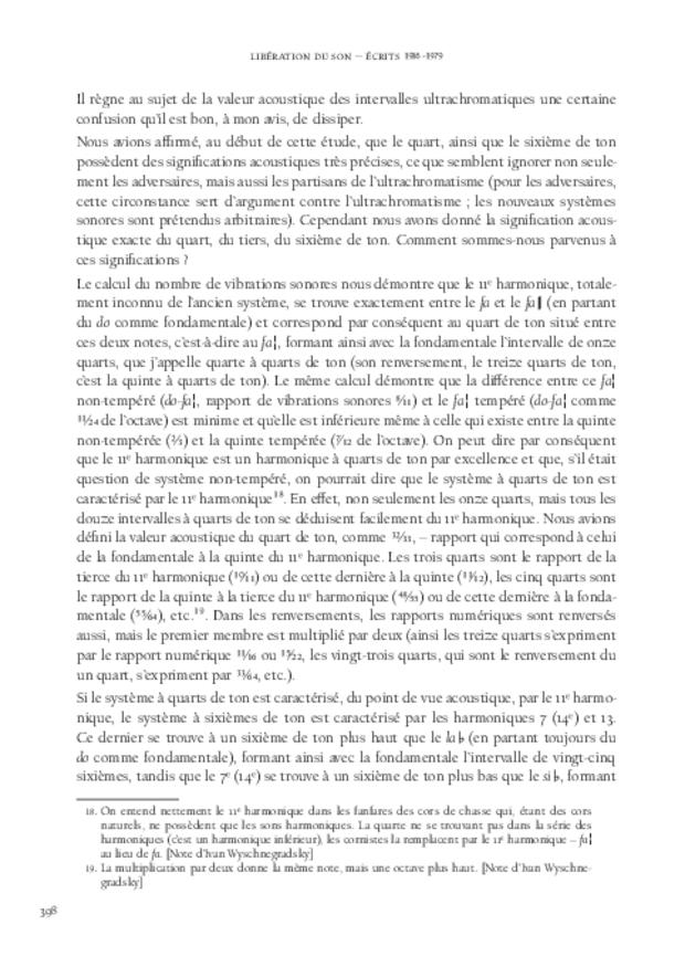 Libération du son, extrait 14