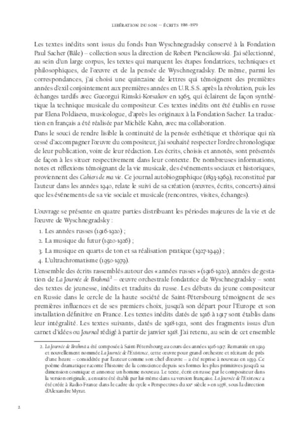 Libération du son, extrait 4