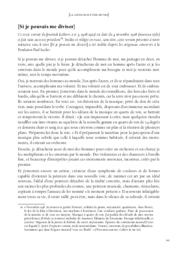 Libération du son, extrait 7