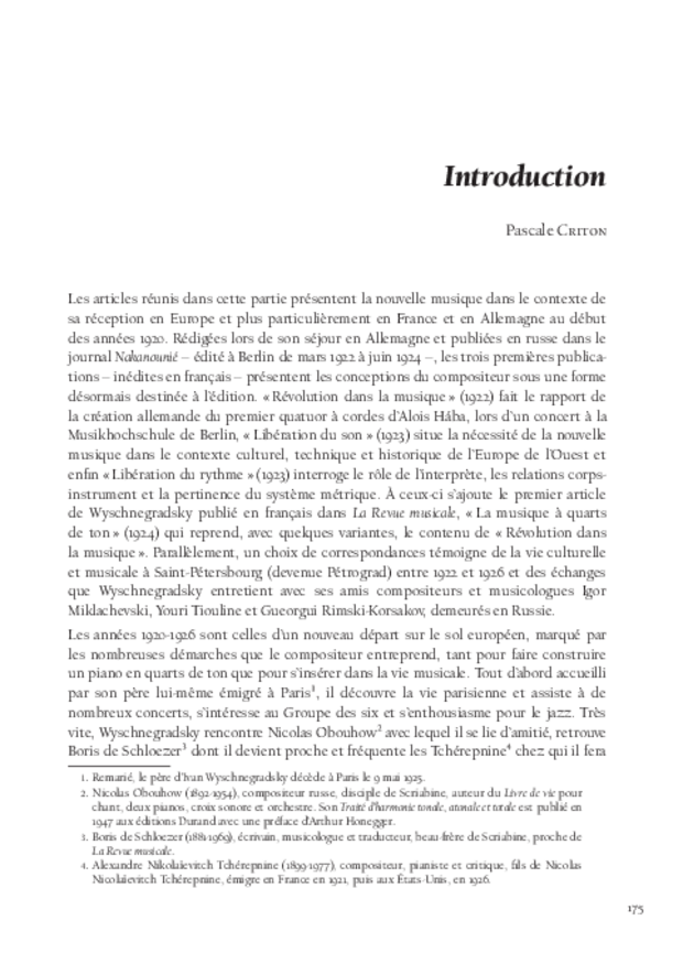 Libération du son, extrait 9