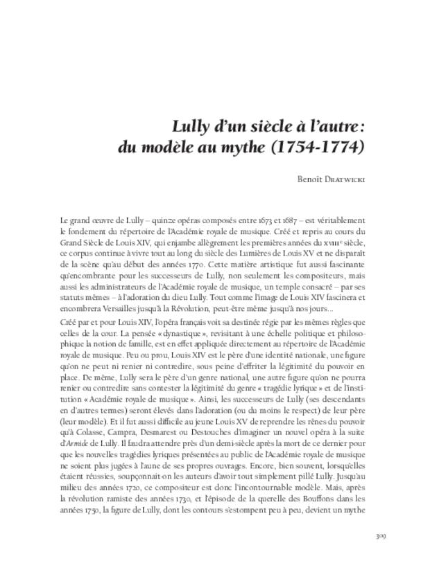 L'invention des genres lyriques français et leur redécouverte au xixe siècle, extrait 11